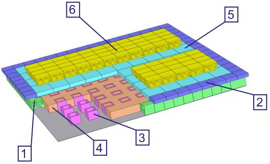 Структурная схема футеровки